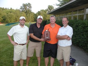 2012 Scramble Champs- Jake Bessler, Derek Fritts, Mike Nunley, Jeff Greenwell