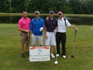 2013 Champions- Sean Hilt, Ashley Morris, Jason Senning, Zach Martin